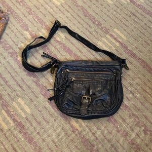 Pre loved Mossimo black pleather handbag